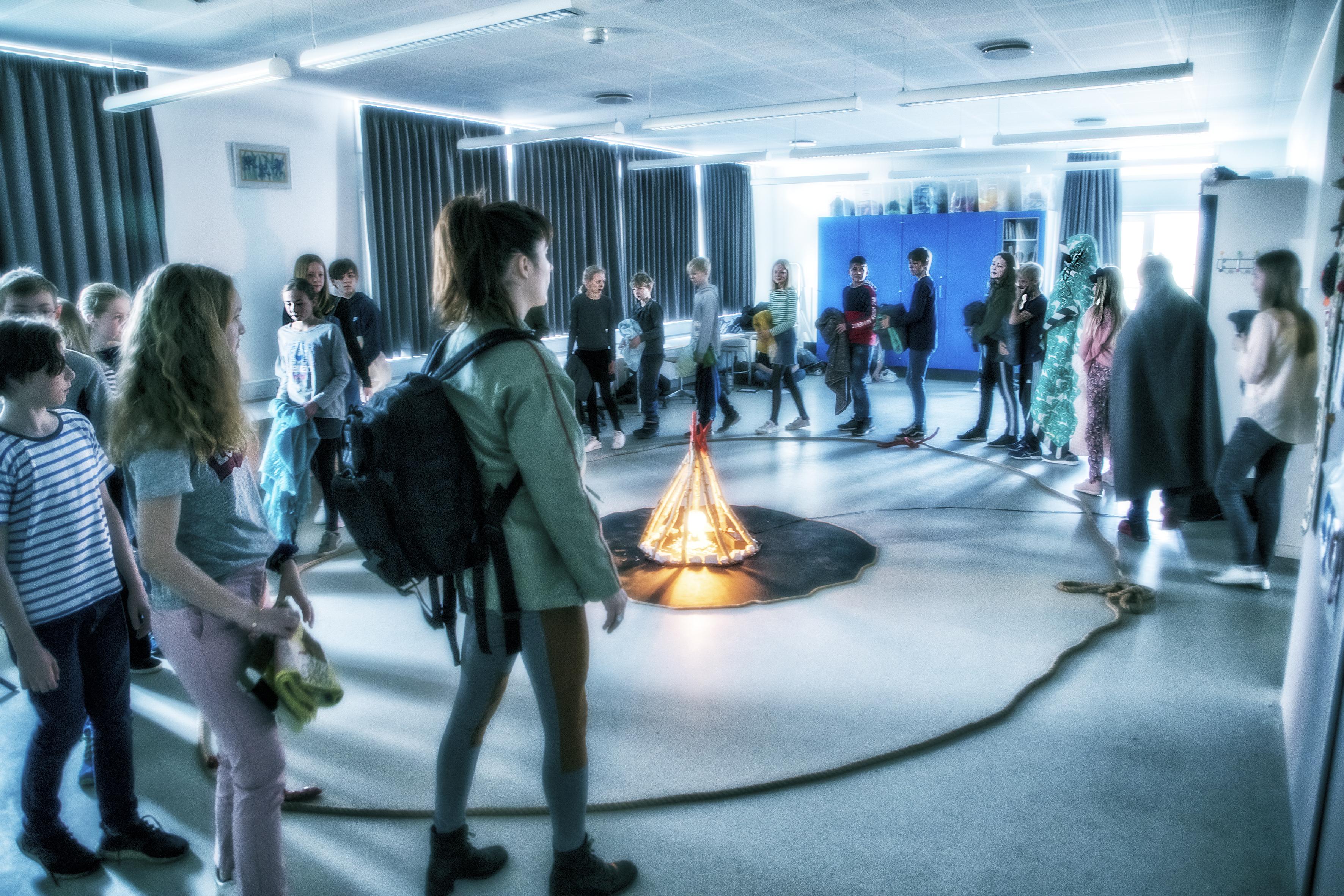 »Demokrati – i børnehøjde« – Teatergrad – Foto af Per Morten Abrahamsen
